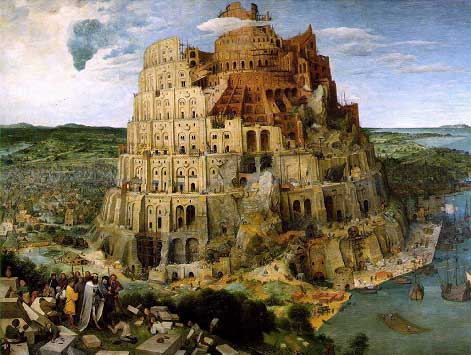 """The Tower of Babel"""