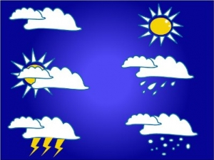 Picture of Different types of Weather